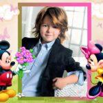 Marco infantil de Mickey Mouse para fotos