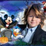 Marco infantil con Mickey y sus amigos