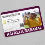 Fotomontaje gratis en tarjeta de identificación