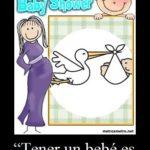 Tarjeta de invitación para baby shower