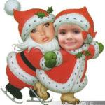 Fotomontajes infantiles de papa noel