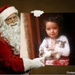 Marco para fotos con Papa Noel
