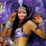 Fotomontaje con bailarina de samba