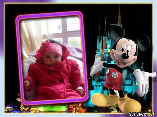 Marcos para fotos mickey mouse