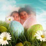 Fotomontajes con huevos de pascua