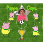 Fotomontaje del mundial 2014 con Peppa Pig