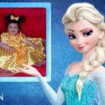 Fotomontaje gratis con Elsa Frozen
