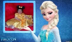 Fotomontaje con Elsa Frozen