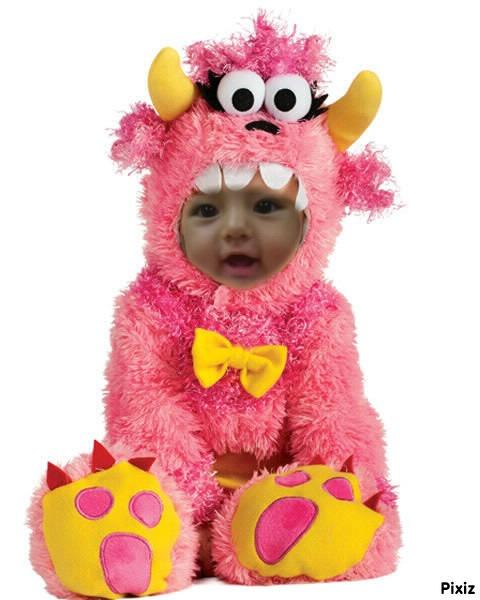 Fotomontaje con disfraz infantil
