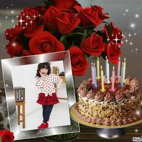 Fotomontaje para cumpleaños gratis