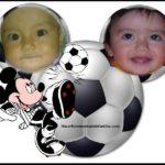 El mejor fotomontaje de fútbol con mickey mouse