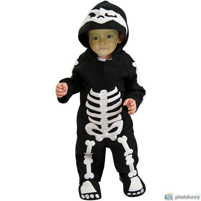 Fotomontaje en disfraz infantil
