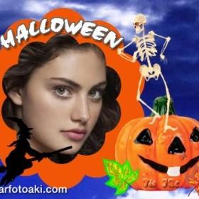 marco de fotos para halloween