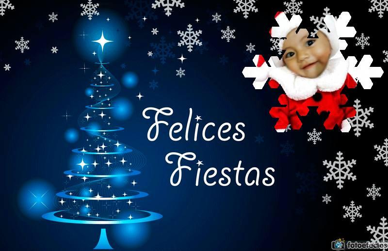 Felicita a tus amigos con este bello postal de navidad