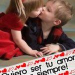"""""""Quiero ser tu amor"""" marco de fotos online"""
