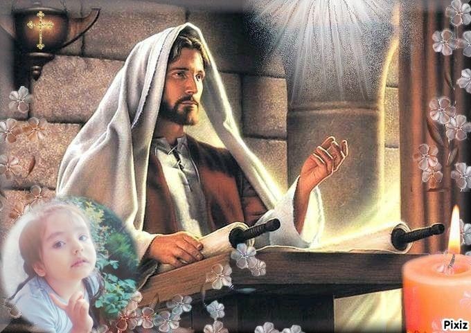Fotomontaje para celebrar la semana santa