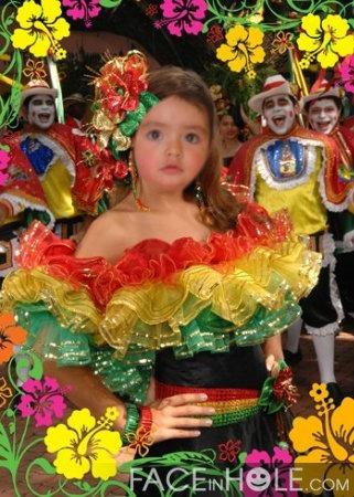disfraz de carnaval