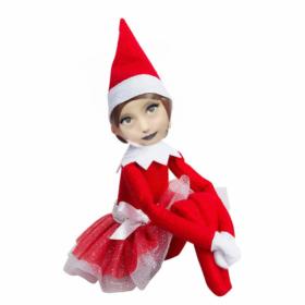 Disfraz de navidad para niñas