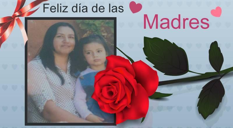 Fotomontaje Con Frase Feliz Día De Las Madres Programas